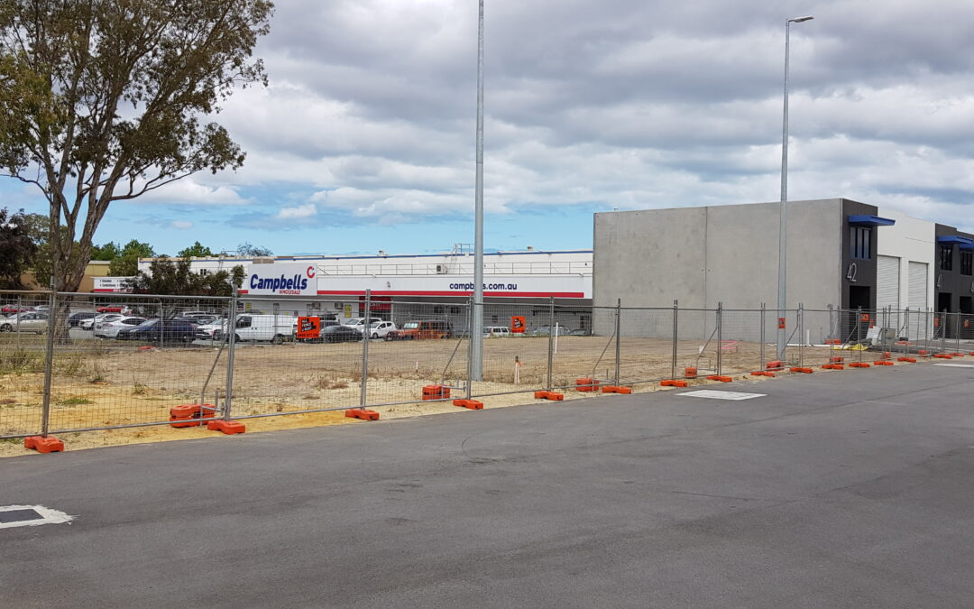 Construction Has Started Again at Balcatta HQ!